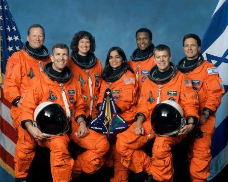 STS-107 컬럼비아 호의 승무원들